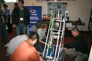 2011 Showcase Example: FIRST Robotics at Liverpool High School